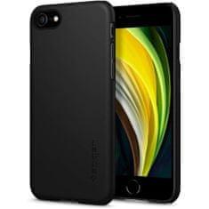 Spigen Thin Fit silikonski ovitek za iPhone 7/8/SE 2020, črna