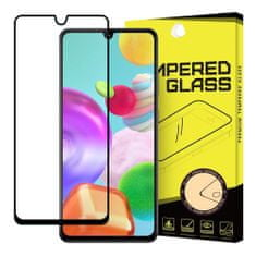 MG Full Glue Super Tough zaščitno steklo za Samsung Galaxy A41, črna
