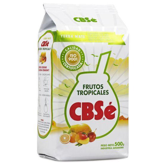 CBSe Yerba Maté Frutos Tropicales - 500 g