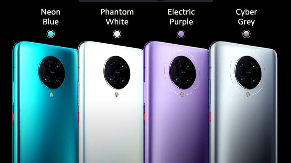 Xiaomi Poco F2 Pro, 6GB/128GB, Cyber Grey - rozbaleno