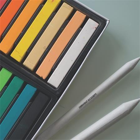 """DERWENT Pastelové křídy """"Academy"""", 12 různých barev"""