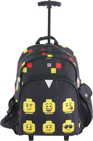 LEGO Faces Black - Trolley batoh