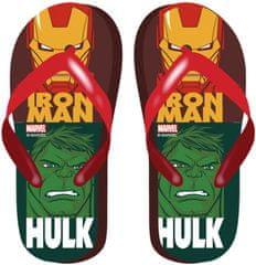 Disney fiú flip-flop papucs Avengers AV13049, 28, piros