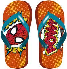 Disney fiú flip-flop papucs Spiderman SM12957, 28, piros