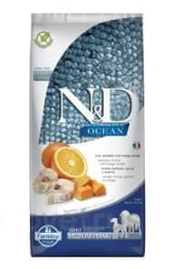 N&D OCEAN DOG Adult M/L Codfish & Pumpkin & Orange 12 kg