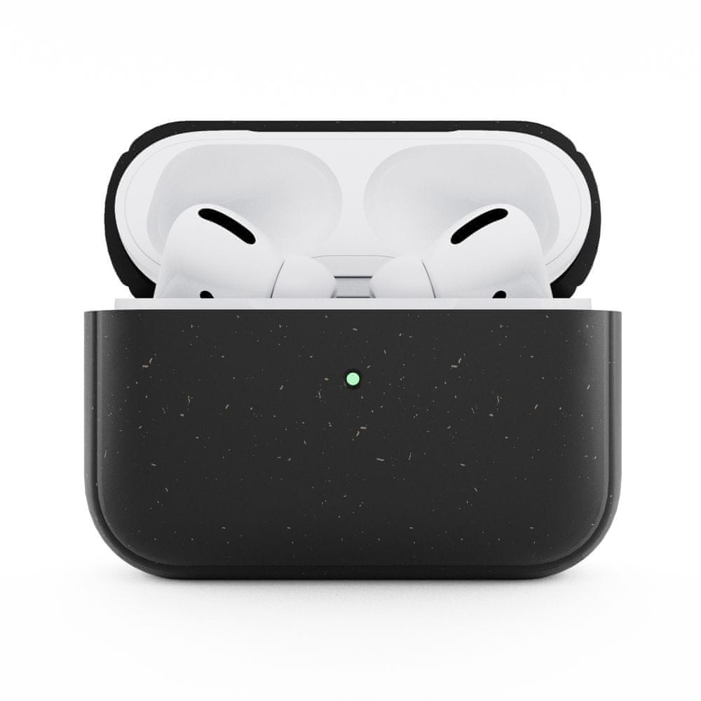 WOODCESSORIES AirPods Pro Bio Case Antimicrobial Black / Biomaterial - AirPods Pro eco351