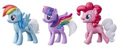 My Little Pony set 3 ponijev Rainbow Tail