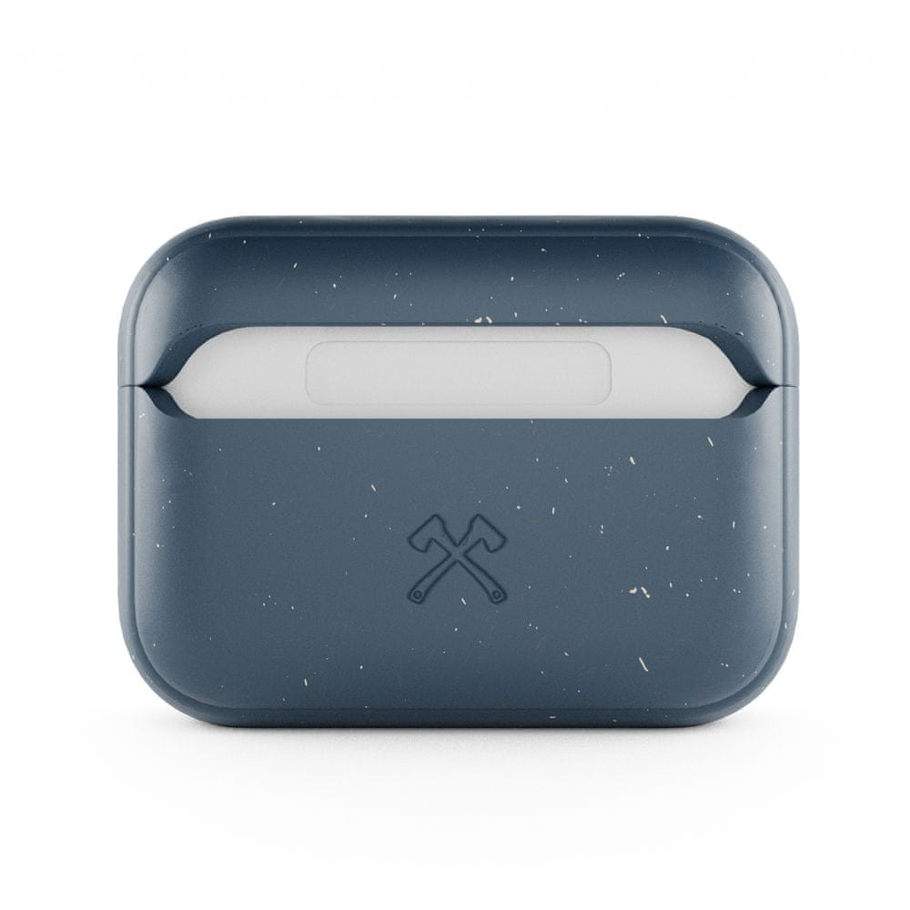 WOODCESSORIES AirPods Pro Bio Case Antimicrobial Navy Blue / Biomaterial - AirPods Pro eco352