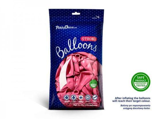 Paris Dekorace Balónek metalický tmavě růžový, 27 cm