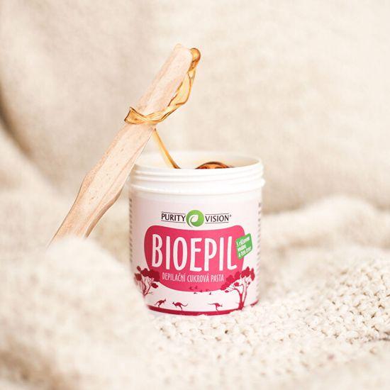 Purity Vision BioEpil depilacijska sladkorna pasta 350 g + 50 g Brezplačno