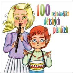 Various: 100 nejznámějších dětských písniček - 2 CD