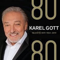 Karel Gott: Karel Gott 80/ 80 Největší hity 1964–2019 - 4 CD