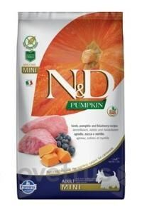 N&D Pumpkin DOG Adult Mini Lamb & Blueberry 7 kg
