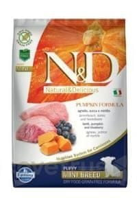 N&D Pumpkin DOG Puppy Mini Lamb & Blueberry 2,5 kg
