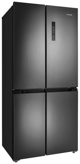 CONCEPT chłodziarko-zamrażarka side-by-side LA8383ds