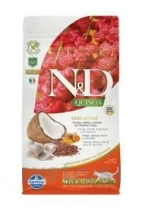 N&D Quinoa CAT Skin & Coat Herring & Coconut 1,5 kg