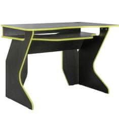 Pariz 1 stol za računalo, sivo-zeleni
