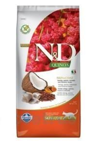 N&D Quinoa CAT Skin & Coat Herring & Coconut 5 kg
