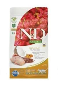 N&D Quinoa CAT Skin & Coat Quail & Coconut 1,5 kg