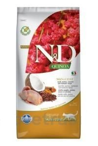 N&D Quinoa CAT Skin & Coat Quail & Coconut 5 kg