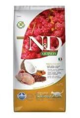 N&D Quinoa CAT Skin & Coat Quail & Coconut 5 kg