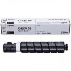 Canon C-EXV 59 toner black, črna (3760C002AA)