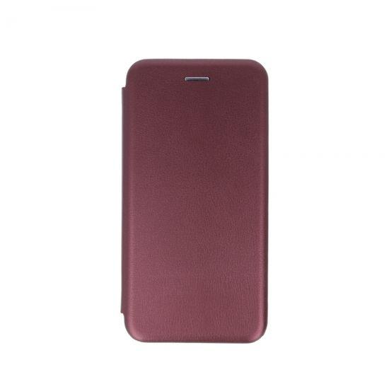 Havana Premium Soft ovitek za Xiaomi Mi A3, preklopni, bordo rdeč