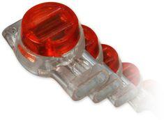 LAN-TEC AC-4-balení 100ks - zařezávací spojka pro 3 dráty