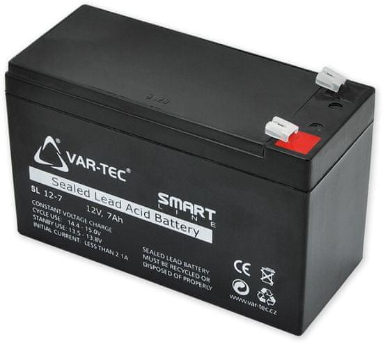 CEL-TEC AKKU SMART 12V / 7Ah - rozmer: DxŠxV = 151x65x102 mm
