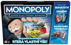 Hasbro Monopoly Super elektronické bankovnictví