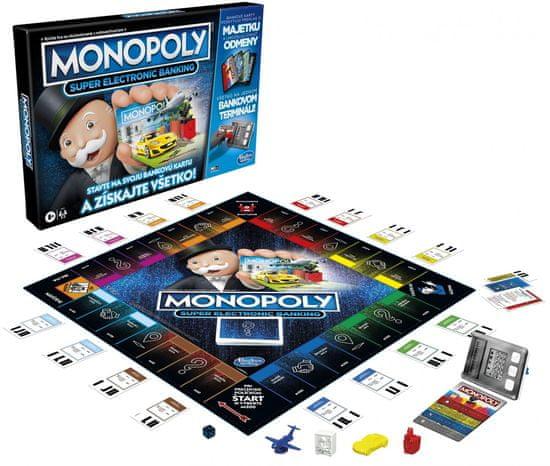 HASBRO Monopoly Super elektronické bankovníctvo - SK