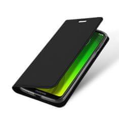 Dux Ducis Skin Pro knjižni usnjeni ovitek za Motorola Moto G7 Power, črna