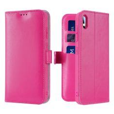 Dux Ducis Kado usnjeni flip ovitek za Samsung Galaxy A10, roza