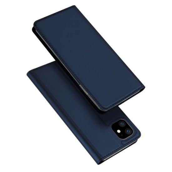 Dux Ducis Skin Pro knjižni usnjeni ovitek za iPhone 11, modro