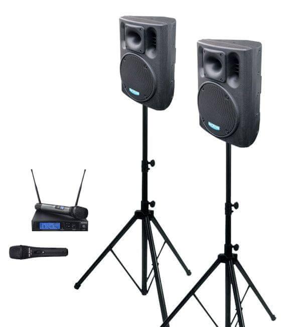 Dexon 2x BC 800A + MBD 830 + MD 505 ozvučovací sestava s mikrofony