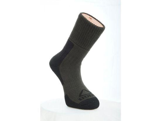 Bobr Ponožky zimní, Bobr Barva: Zelená, Velikost: 38-40