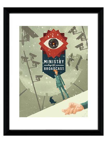 Oprawiony plakat Xzone Originals - Ministry of Broadcast