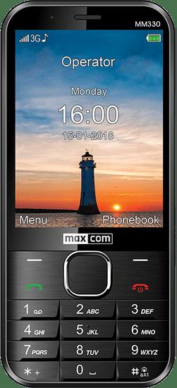 MaxCom MM330 - zánovné