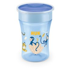 Nuk Magic Cup bögre fedővel 230ml kék