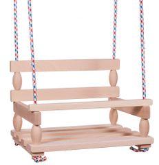 Teddies Houpačka dřevo 38x30cm