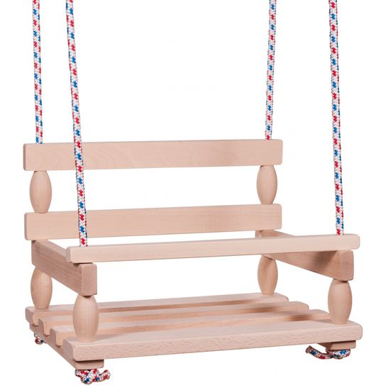 Teddies lesena gugalnica, 38x30cm
