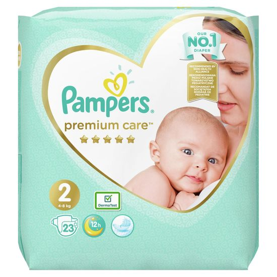 Pampers Plenky Premium Care 2 (4-8 kg) 23 ks