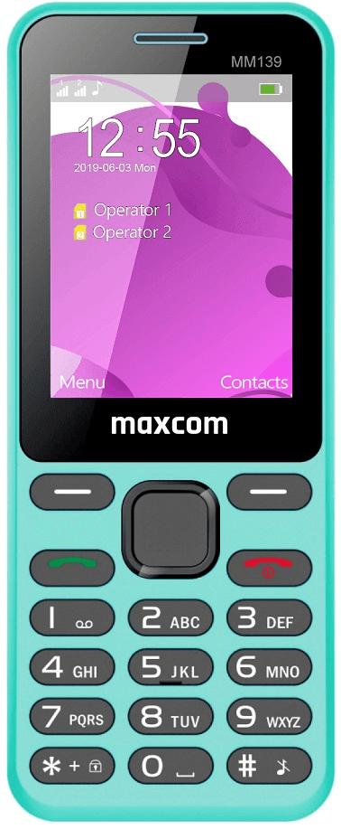 MaxCom MM139, modrý