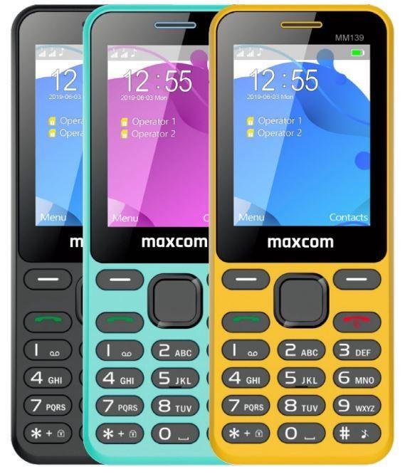 MaxCom MM139, černý