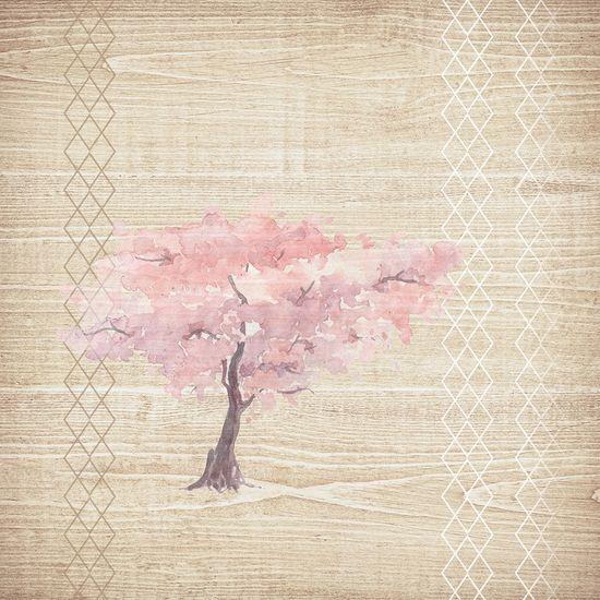 Vavex Vliesová obrazová tapeta 5007 Garden Strom života, 260 x 260cm, My Dream, Vavex