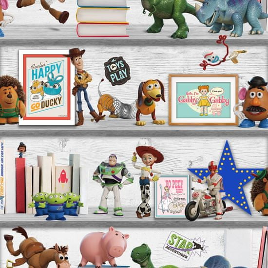 Graham & Brown Dětská papírová tapeta 108017, Toy Story, Kids@Home 6, Graham & Brown