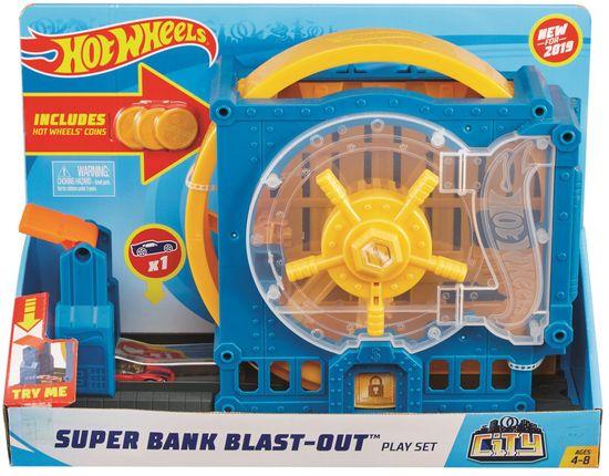 Hot Wheels City Deluxe set - Super Bank Blast