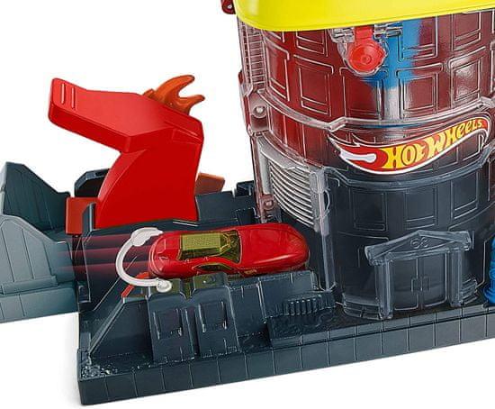 Hot Wheels City Deluxe set - City Super Fire House