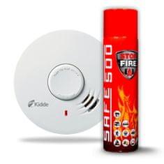 Kidde SET Hlásič požáru a kouře Kidde 10Y29 + Hasicí sprej SAFE 500