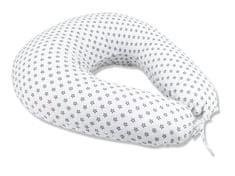 COSING Dojčiaci vankúš Sleeplease 185 cm - Hviezdy biela